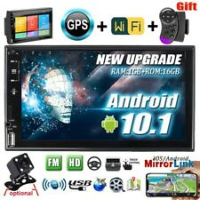"""New listing 7"""" Car Radio Android 10.1 Touch Screen Stereo 2 Din Wifi Gps Mp5 Player +Camera"""