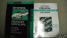 1996 TOYOTA CELICA Service Repair Workshop Shop Manual Set OEM DEALERSHIP