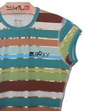 Haut ROXY vert pour FILLE surf plage été T-shirt NEUF 10 ans