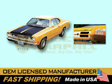 1971 1972 Plymouth Duster TWISTER w/Eyeballs COMPLETE Decals & Stripes Kit