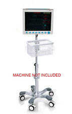 Rolling stand for CONTEC CMS8000 CMS-8000 PATIENT monitor (big wheel) NEW IN USA