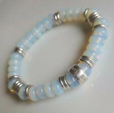 Moonstone beads & Links Of London sterling silver Bracelet
