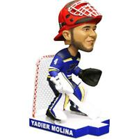 ST. LOUIS CARDINALS YADIER MOLINA BLUES Bobblehead SGA NIB 9/13/19 Hockey