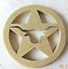Basket Weaving Supplies Wood Longhorn Star Texas Slotted Bases Bottom Round