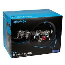 Logitech G29 Driving Force Volante PS4, PS3 e PC, Nero Nuovo Sigillato!