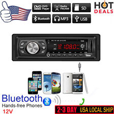 Bluetooth Car In Dash Audio Stereo Auto Head Unit MP3/USB/SD/MMC Player Handfree