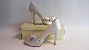 Shades Bridal Shoes  - 741 - Ivory (Winter White) - UK 7  #12B401
