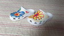 tongs frogs motif fleur  taille 30 TBE