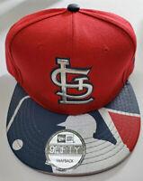 New St. Louis Cardinals Baseball Hat - MLB New Era 9Fifty SnapBack Cap