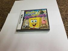 SpongeBob SquarePants: Plankton's Robotic Revenge (Nintendo DS, 2013) NEW