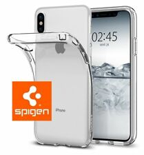 iPhone X Case, Genuine Spigen [Liquid Crystal] Cover Slim Protection - Clear