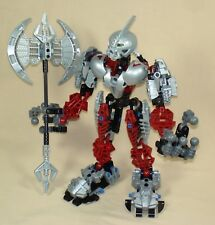 Lego Bionicle Warriors 8733 AXONN - Mask of Truth Titan 100% with Battle Axe