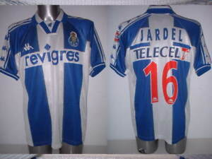 Porto Jardel Kappa Adult XL Shirt Jersey Football Soccer Vintage Portugal 1997