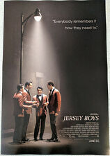 JERSEY BOYS poster 11.5x17 Christopher Walken Clint Eastwood broadway musical