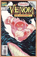 VENOM The Madness 1 2 3  (1993) complete set HIGH GRADE Juggernaut BIG scans!!