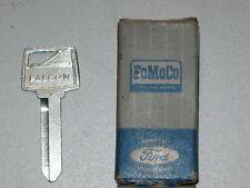 1965 1966 FORD FALCON IGNITION & DOOR LOCK KEY BLANK NOS C5DZ-6222053-A