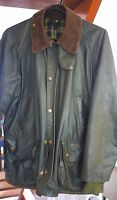 VINTAGE BARBOUR BEDALE WAX JACKET SIZE C38/97CM - JUST REPROOFED