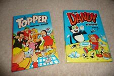 Dandy Annual 1983 & Topper Annual 1990