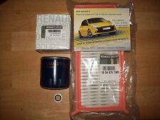 GENUINE RENAULT CAPTUR 1.5 OIL AND AIR FILTER SERVICE KIT