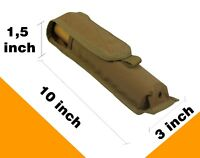Tactical Pouch Case molle flashlight smoke PAINTBALL airsoft bag coyote brown