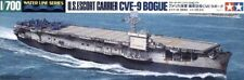 Tamiya 31711 1/700 Scale Model Kit US Navy Bouge-Class Escort Carrier CVE-9