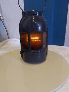 Feuerhand Baustellenlampe Signal Warnlampe Sturmlaterne Petroleumlampe gepflegt