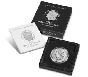 Morgan 2021 Silver Dollar with CC Privy Mark - 21XC PRESALE of CONFIRMED ORDER*