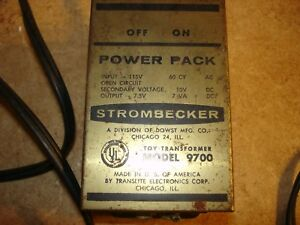 Vintage Strombecker Power Pack #970C works offered by MTH