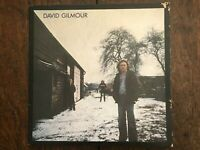 "David Gilmour ""Self Titled"" Australian Gatefold Press CBS Label VG+ Ex Con"