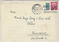 German 1954 Pirmasens Cancel Obligatory Tax Aid for Berlin Stamps Cover Ref26780