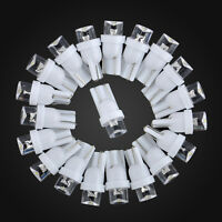 New 20Pcs T10 Car White LED 194 168 SMD W5W Wedge Side Light Bulb Lamp 12V DC