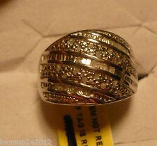 Diamond Ring  Size 7  46 diamonds(Rnd & Bag.) .40tcw MSRP$849