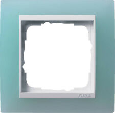 Gira Rahmen Abdeckrahmen Event 1fach 0211395 opak mint / reinweiß Blende