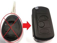 2 Button Flip Key Upgrade for Land Rover Discovery 2 Remote Key Fob