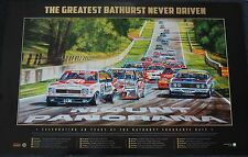 BATHURST GREATEST RACE NEVER DRIVEN LIMITED EDITION PRINT PETER BROCK HOLDEN