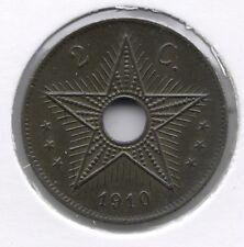 2 cent 1910 * Prachtig / FDC * BELGISCH CONGO - ALBERT I * nr 7440
