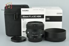 Excellent+++!! Sigma Art 30mm f/1.4 DC HSM for Pentax w/ Box
