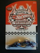 Hot Wheels-2006-Collectors Nationals-W-Ozzie Motorcycle(1 of 3000)w/case(#3of5)