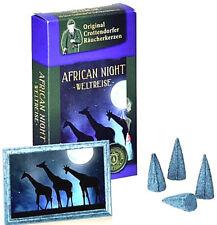 20  Räucherkerzen   African Night   Original Crottendorfer Gr. M  Räucherkegel