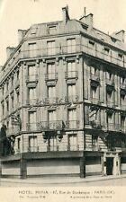 France Paris - Hotel Reina on Rue de Dunkerque 1932 postcard