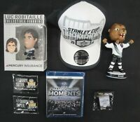 Drew Doughty Bobble Head 2014 SC Kings Hat Blu-Ray Bailey + Pins SGA New