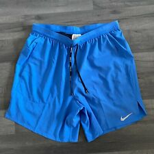 NIKE MENS FLEX STRIDE RUNNING TRAINING SHORTS - MEDIUM - BLUE (CJ5471-402)