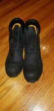 Men's Timberland Black Waterproof Boots Size 18 Authentic