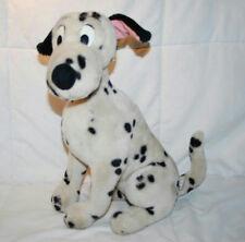 "VINTAGE 17"" LARGE PLUSH DISNEY DISNEYLAND DALMATION DOG WITH RARE PINK EARS"