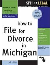 How to File for Divorce in Michigan, 4E-ExLibrary