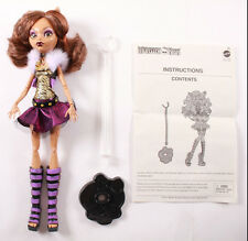 Monster High Ghoul's Alive CLAWDEEN WOLF Loose 100% Complete