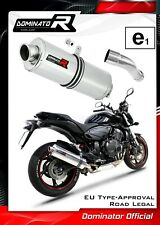 CB 600 F HORNET Homologowany wydech tłumik Exhaust OVAL Dominator 2007 - 2013