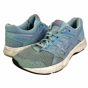 Asics Gel Contend 5 Athletic Running Shoes Low Top Womens 1012A234 Blue 8.5