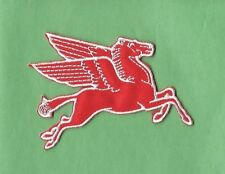 "New Mobil ""Pegasus' Right 3 X 3 1/2' Inch  Iron on Patch Free Shipping"