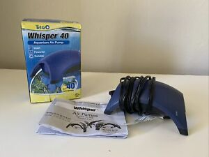Tetra Whisper Air Pump Only w/ Minimal Noise Maximum Air Flow 20-40 G Used Once